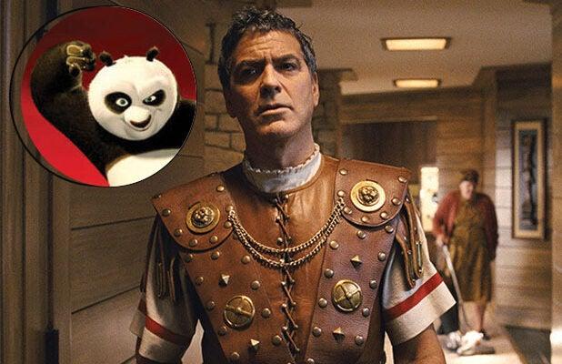 George Clooney Hail Caesar and Kung Fu Panda 3