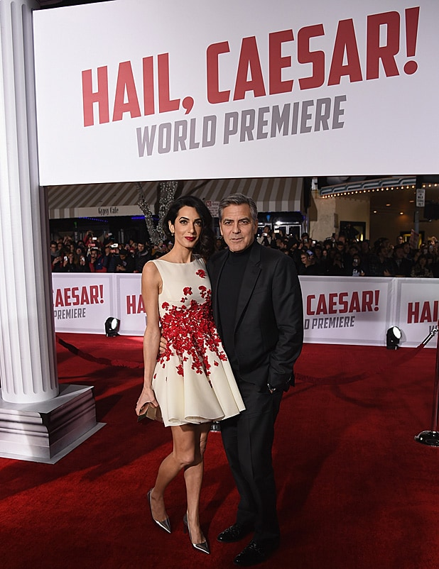 George Clooney and Amal at Hail Caesar premiere