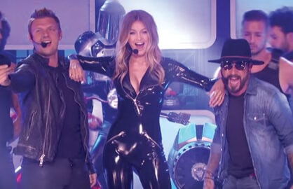 Gigi Hadid, Backstreet Boys on Lip Sync Battle