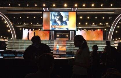 Grammy rehearsals