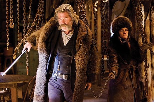hateful eight quentin tarantino ranked