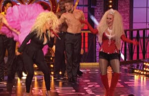 "Hayden Panettiere, Christina Aguilera perform ""Lady Marmalade"" on Lip Sync Battle"