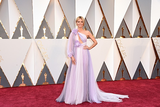 Heidi Klum Oscars