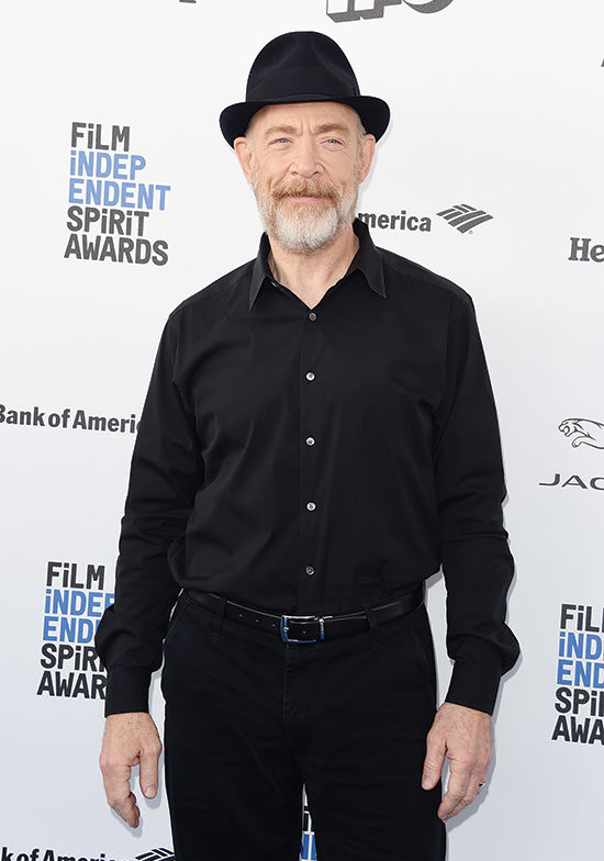 J K Simmons arrives at 2016 Sprit Awards