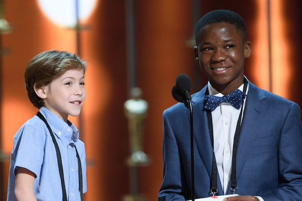 Jacob Tremblay and Abraham Attah oscars
