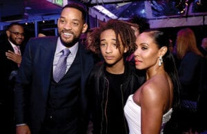 Jaden and Will Smith