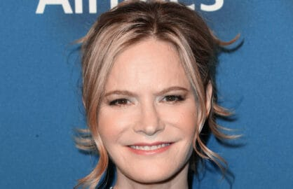 BEVERLY HILLS, CA - FEBRUARY 08: Actress Jennifer Jason Leigh attends The Hollywood Reporter's 4th Annual Nominees Night at Spago on February 8, 2016 in Beverly Hills, California. (Photo by Frederick M. Brown/Getty Images)