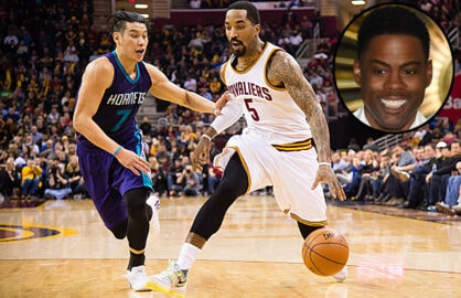 Jeremy Lin and Chris Rock