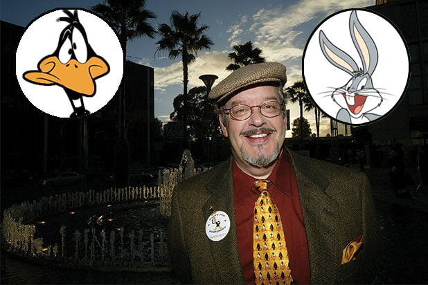 Joe Alaskey, Daffy Duck and Bugs Bunny