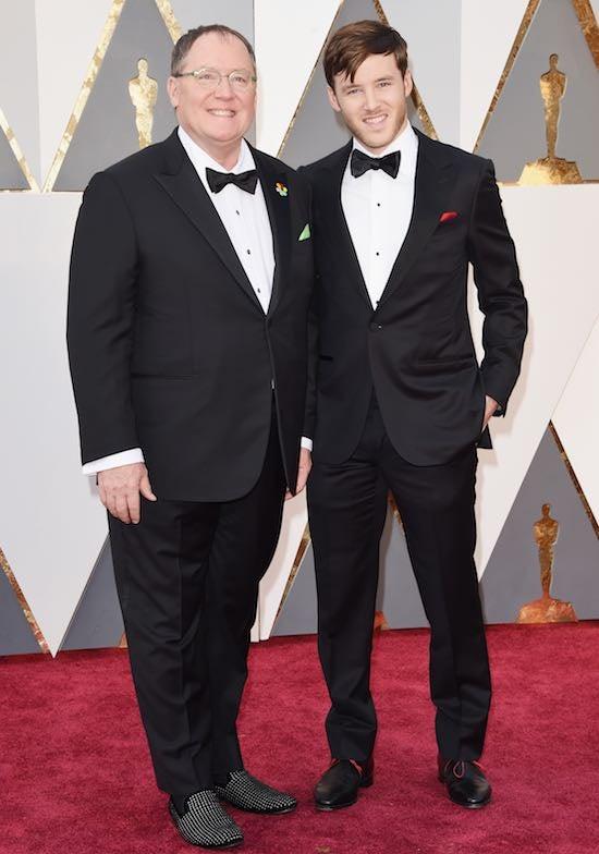 John Lasseter with son Bennett