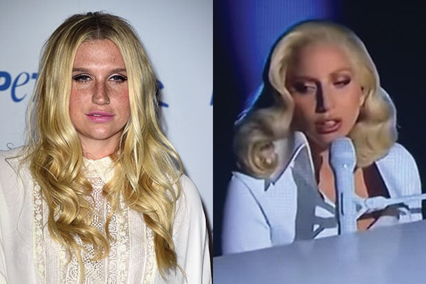 Kesha Thanks Lady Gaga, Joe Biden