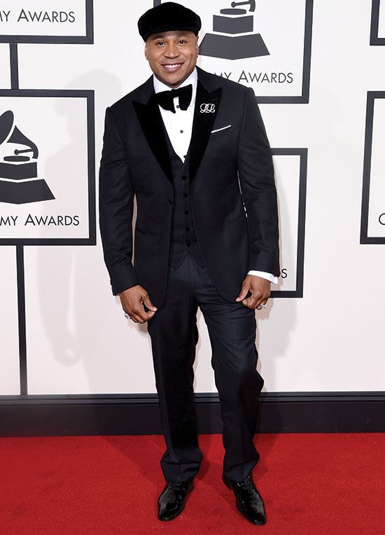 LL Cool J Arrives at the 2016 Grammys