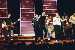 Lennie Baker with Sha Na Na