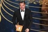 Leonardo DiCaprio Oscars Revenant Best Actor