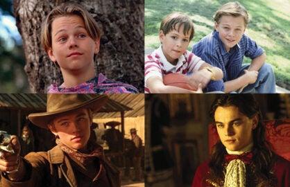 Leonardo Dicaprio roles