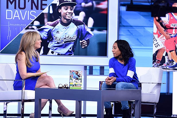 "Linda Cohn and Mo'ne Davis on ""SportsCenter"""