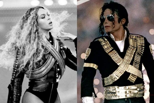 Beyonce Michael Jackson Super Bowl