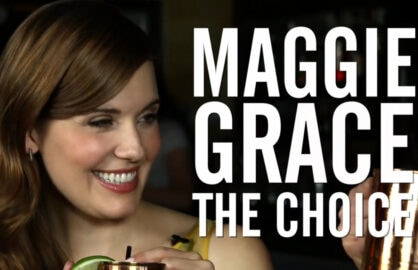 Maggie Grace Drinking With the Stars