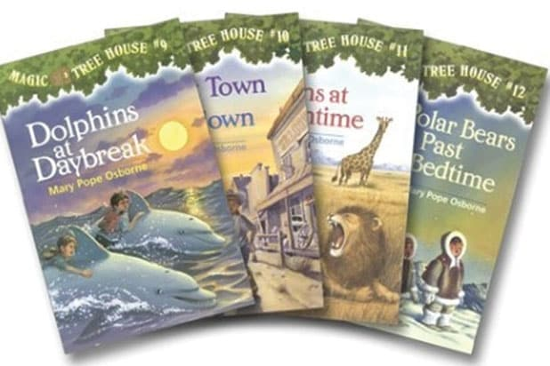 Lionsgate Acquires Rights To Magic Tree House Book Series
