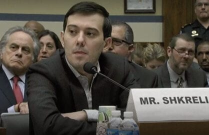 Martin Shkreli Invokes Fifth Amendment at Hearing
