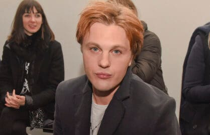NEW YORK, NY - FEBRUARY 16:  Actor Michael Pitt attends the rag & bone show during Mercedes-Benz Fashion Week Fall 2015 at Spring Studios on February 16, 2015 in New York City.  (Photo by Vivien Killilea/Getty Images)