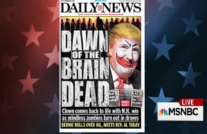 NY Daily News Trump Cover