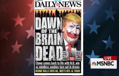 NY Daily News Trump Cover