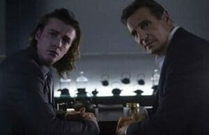 Liam Neeson and son in LG Super Bowl Commercial