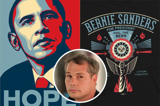 clinton attacks obama hope artist shepard fairey