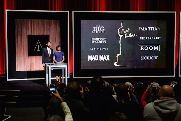 Academy Awards nominations announcement