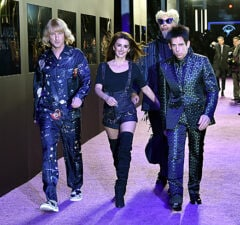 Owen Wilson, Penelope Cruz, Will Ferrell and Ben Stiller at Zoolander 2 premiere