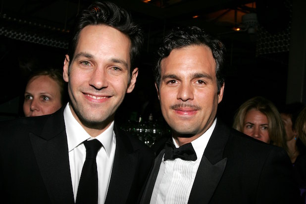 Paul Rudd and Mark Ruffalo at the 60th Annual Tony Awards At Radio City Music Hall After Party