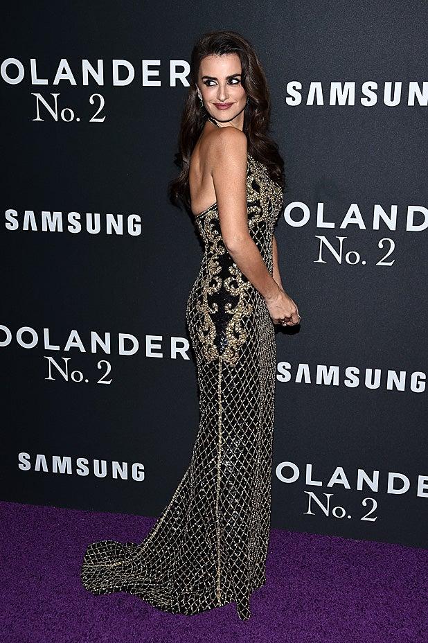 Penelope Cruz at Zoolander 2 premiere