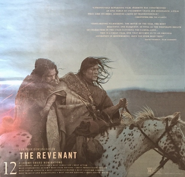 The Revenant ad
