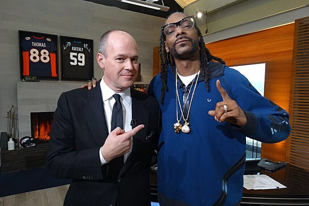 Rich Eisen and Snoop Dogg