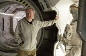 Ridley Scott The Martian alien