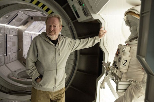 Ridley Scott The Martian alien