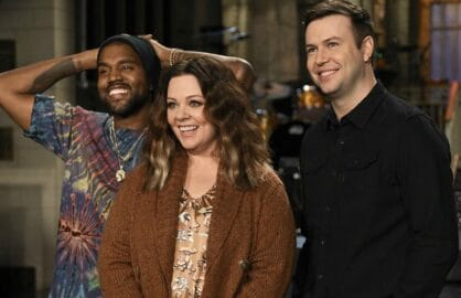 SNL Saturday Night Live Kanye West Melissa McCarthy Taran Killam