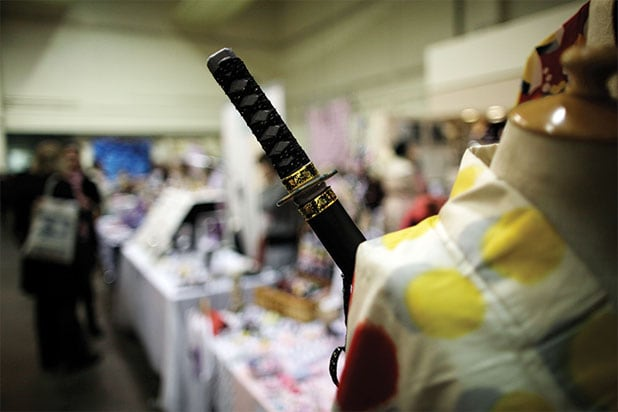 Actor killed by samurai sword