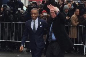 Bernie Sanders Al Sharpton