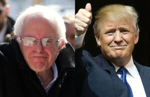 Bernie Sanders Donald Trump Fox News New Hampshire