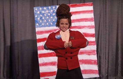 Sarah Palin tribute onKimmel