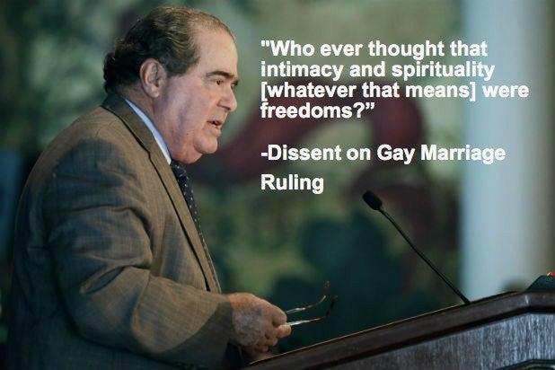 Justice Scalia Dead