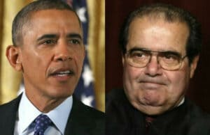 Scalia Dead 2016 Election