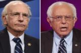 Bernie and Larry David