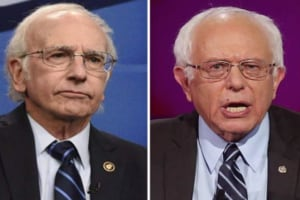 Bernie and Larry David