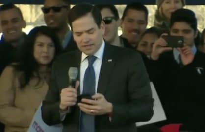 Marco Rubio Reads Trump's Mean Tweets