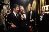 Josh Singer and Tom McCarthy at the Oscars