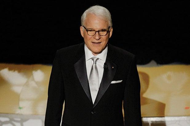 Steve Martin Oscar host