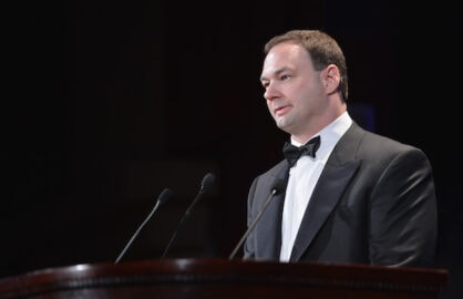 Thomas Tull from Legendary attends The Jackie Robinson Foundation Annual Awards' Dinner at the Waldorf Astoria Hotel